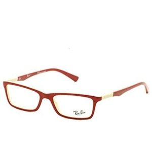 5/$24 Ray-Ban Glasses RX5284 5136 Red